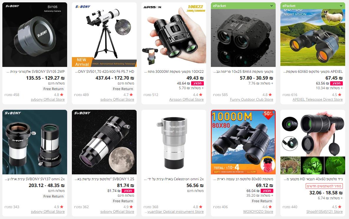 כמה עולה מיקרוסקופים מקצועיים